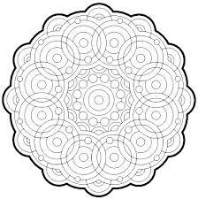 Geometric Coloring Sheets Printable Geometric Coloring Sheets