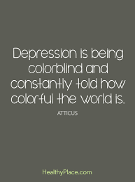 Depression Quotes Simple Depression Quotes And Sayings About Depression HealthyPlace