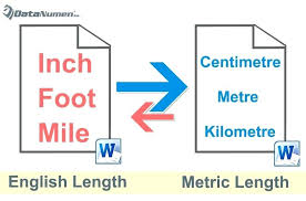 English And Metric Measurements Seaweehee Com