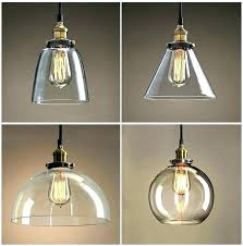 glass shades for hanging lights unbelievable clear pendant light alabaster lamp replacement interior design 3