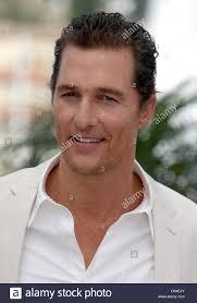 Attore Matthew McConaughey pone al photocall di 'Mud