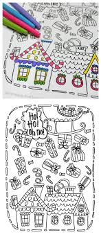 Printable Christmas Coloring Page Free Printable