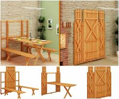space saver furniture. The Most Amazing Space Saving Picnic Table Saver Furniture