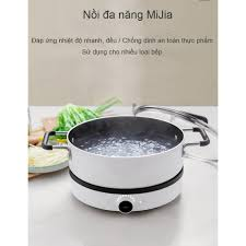 Nồi bếp từ Xiaomi GJT02CM - nồi lẩu bếp điện từ xiaomi Mijia DCL002CM Youth  Version 2 - Hàng Chính Hãng
