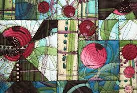 Paint & Stitch: Vibrant Acrylic Quilts - iquilt.com & Art Quilts ... Adamdwight.com