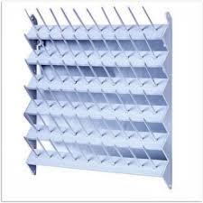 the arranger 60 spool wall thread rack