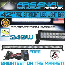 Razor Led Light Bar 1 42 Inch 240w Cree Led Light Bar Pro Series Spot Flood Combo Beam Offroad Trucks 4x4 Fog Jeep Trucks Utv Suv 4x4 Polaris Razor 1000 Rzr Xp1000