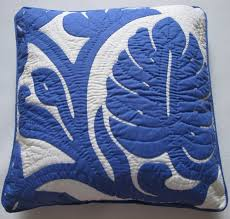 2 Hawaiian Quilt Pillow Covers, Cushions, 100% Hand Quilted/hand ... & 2 Hawaiian Quilt Pillow Covers, Cushions, 100% Hand Quilted/hand Appliqued  18 Adamdwight.com