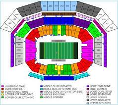 Ticketmaster Allstate Arena Seating Chart Football Ticketmaster Blog