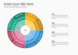 Free Quatered Wheel Chart Template