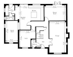 House Floor Plans   Dimensions  how to draw a simple floor plan    House Floor Plans   Dimensions
