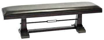 black dining bench. Intercon Hayden Backless Dining Bench - Item Number: HY-CH-1656B-RSE Black
