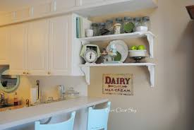 Kitchen:Sweet Diy Open Kitchen Shelves With Cans Ideas Diy Spring Shelves  In Our Kitchen