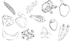 Coloring Pages Of Healthy Foods Free Coloring Pages Healthy Foods