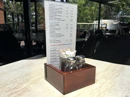 restaurant condiment holder timber holders tabletop