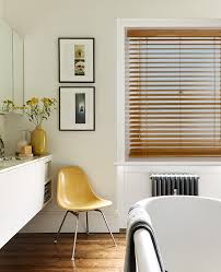 bathroom blinds. wooden blinds are another effective solution for bathrooms bringing strength durability and excellent light control to a busy space thatu0027s utilised by the bathroom