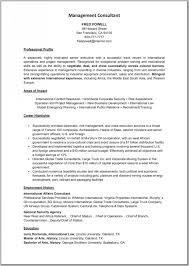 Sample Resume Environmental Consultant Resignation Letter