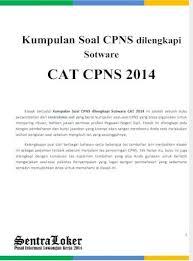 Agar kamu bisa lanjut pada… Cat Cpns 2014 Pdf Document