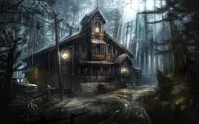 Dark Forest, Crows, Haunted House ...