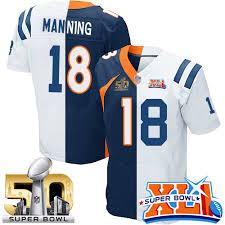 Peyton Jersey Split Manning Peyton Manning