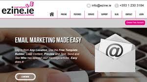 Ezine Design Software Email Marketing Software Www Ezine Ie Inspiration Marketing