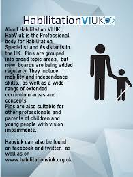 habilitation specialist parents and carers habilitation vi uk