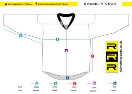 Ice Hockey Sizing Guide Rhino Sports