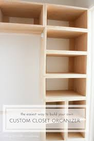 diy custom closets. This Brilliant DIY Custom Closet Organizer Is Not Only Easy To Build, But Makes Creating Diy Closets