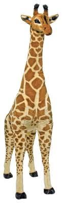 <b>Мягкая игрушка</b> Melissa & Doug <b>Жираф</b> 135 см — купить по ...