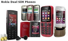 nokia dual sim phones. comparison of nokia dual sim mobile phones sim