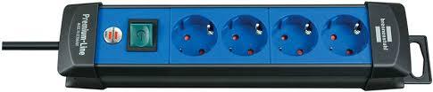 1951340100 <b>Brennenstuhl удлинитель Premium</b>-<b>Line</b>, 3 м., <b>4</b> ...