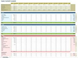 Budget Plan Sample Business Free Monthly Budget Templates Monthly Budget Planner