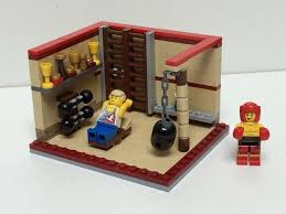 LEGO Ideas - A Weights Room