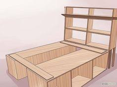 Build a Wooden Bed Frame. Homemade ...