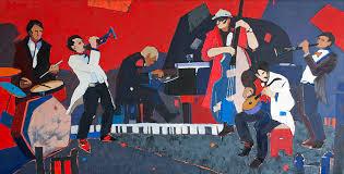 Галерея Арт Владивосток › Дальневосточная Государственная  Быкова Евгения Джаз