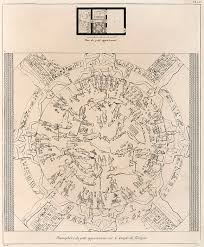 Dendera Chart Dendera Zodiac From The Temple Of Hathor Greeting Card