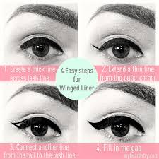 Eyeliner Chart Wing Eyeliner Chart Honey Hair Care