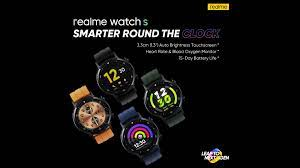 Realme Watch S is making its global ...