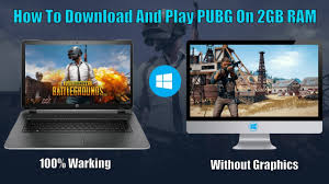 Minimum ram required 2 gb ram. How To Download And Play Pubg On 2gb Ram Pc Without Graphics 100 Working With Proof Youtube