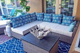 sunbrella custom patio cushion cover
