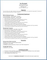 Professional Resume Format Examples Interesting Resume Template Examples Resume Examples Format Basic Resume