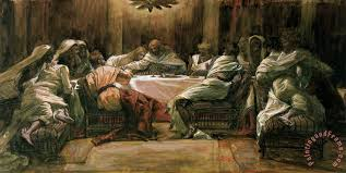 the last supper painting tissot the last supper art print