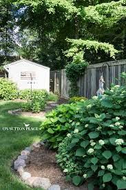 how to maintain a garden rock border