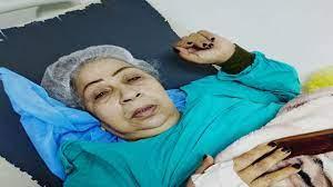 الفنانة المصرية فاطمة كشري تتعرض لوعكة صحية وتنقل للمستشفى