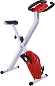 Soozier <b>Foldable Exercise Bike</b> Indoor Upright <b>Cycling Bicycle</b> ...