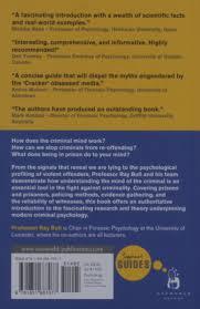 criminal psychology a beginner s guide beginner s guides ray criminal psychology a beginner s guide beginner s guides ray bull charlotte bilby claire cooke tim grant 9781851687077 com books