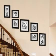 picture wall ideas for stairs
