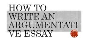 how to write an argumentative essay what is an argumentative essay an argumentative essay is a type of writing that requires