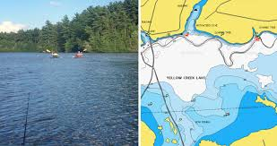 White Lake Ontario Depth Chart New Pennsylvania Lake Maps Now Available