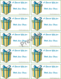 Tags For Gifts Templates Printable Birthday Gift Tags Templates Download Them Or Print